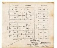 Abel F. Rice 1892 Samuel N. and Florence Davenport, Allston 1890c Survey Plans